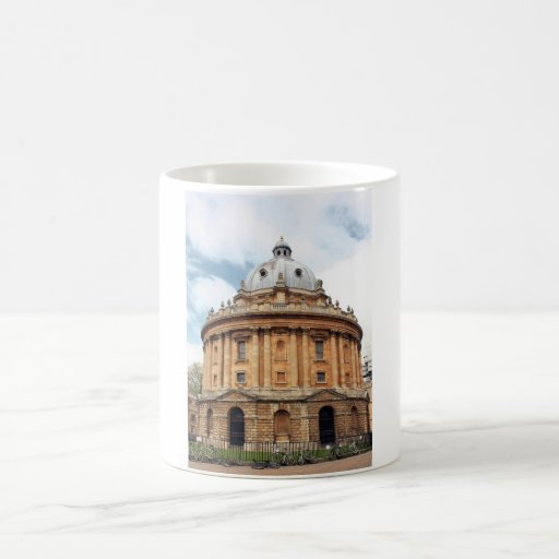 Radcliffe, Camera, Bodleian library, Oxford Classic White Coffee Mug