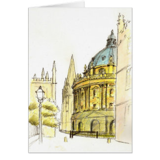 Radcliffe Camera illustration card