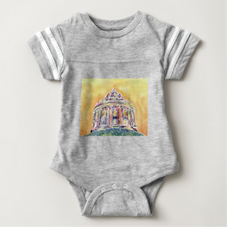 Radcliffe camera - watercolour painting baby bodysuit