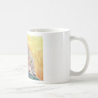 Radcliffe camera - watercolour painting coffee mug