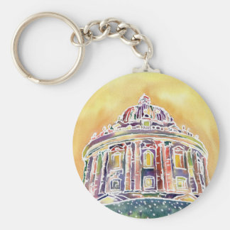 Radcliffe camera - watercolour painting keychain
