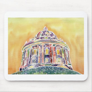 Radcliffe camera - watercolour painting mouse pad