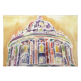 Radcliffe camera - watercolour painting placemat
