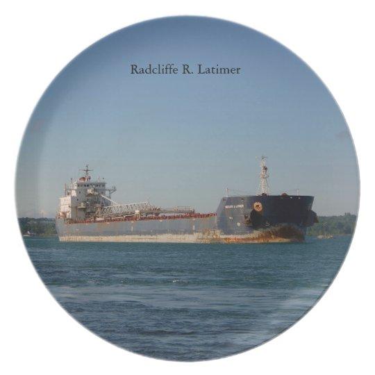 Radcliffe R. Latimer plate