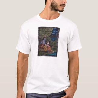Radha Krishna by Masoom Sanghi T-Shirt