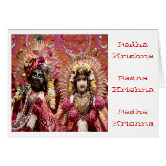 Radha KRISHNA  for Love, Peace n Prosperity Card