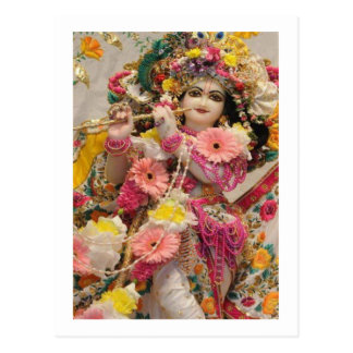 Radha KRISHNA  for Love, Peace n Prosperity Postcard