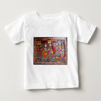 RADHA KRISHNA HINDU GODS MADHUBANI ART STYLE BABY T-Shirt