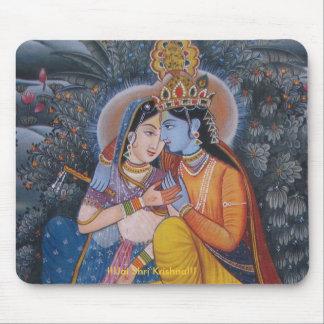 Radha Krishna Mousepad