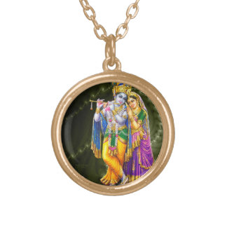 Radha Krishna necklace