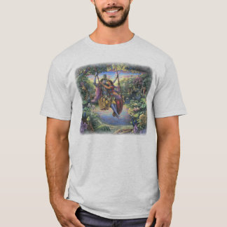 Radha Krishna on the Swing T-shirt