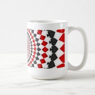 Radial Card Suits: Coffee Mug