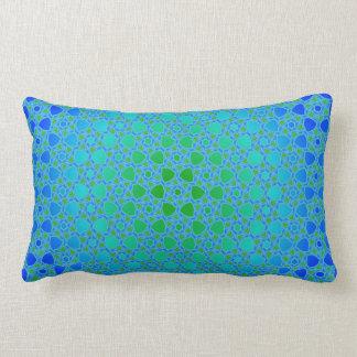 Radial Flower Pattern Lumber Pillow