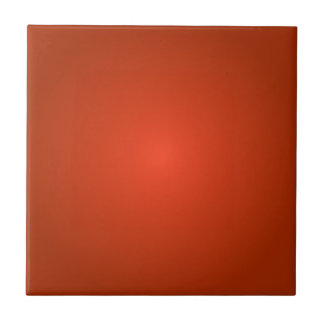 Radial Gradient - Dark Red and Light Red Tile