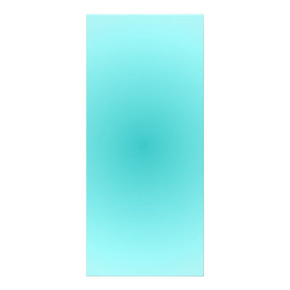 Radial Gradient - Light Cyan and Turquoise Rack Card Template