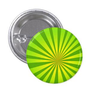 Radial green 1 inch round button