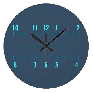Radial Orthogonal Geek clock