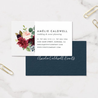 Radiant Bloom Business Card