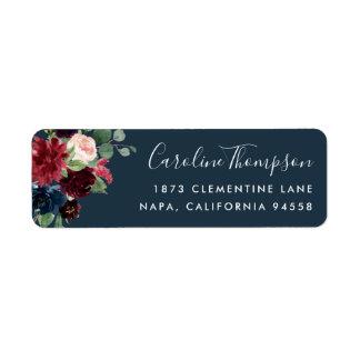 Radiant Bloom | Floral Return Address
