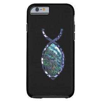 Radiant Christian Fish Symbol Tough iPhone 6 Case