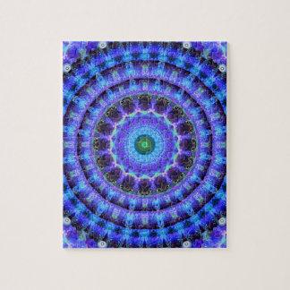 Radiant Core Mandala Jigsaw Puzzle