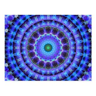 Radiant Core Mandala Postcard