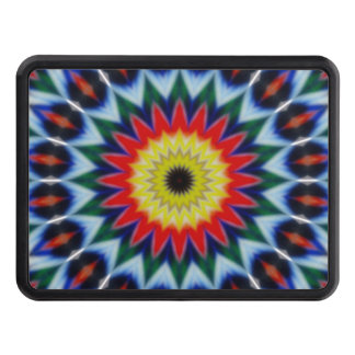 Radiant Flower Power Trailer Hitch Cover