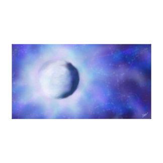 Radiant Luna Canvas Print