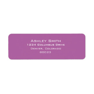 Radiant orchid color of 2014