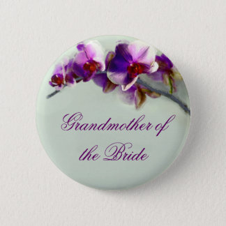Radiant Orchid Painting 2 Inch Round Button