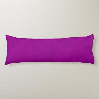 Radiant Orchid Purple Velvet Look Body Pillow