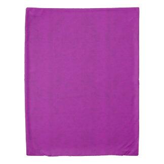 Radiant Orchid Purple Velvet Look Duvet Cover