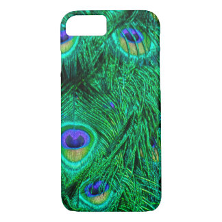 Radiant Peacock Feathers Photo Design iPhone 8/7 Case