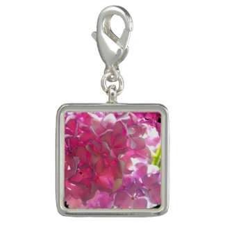 Radiant Pink Hydrangea Charms