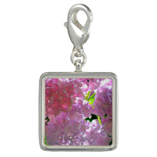 Radiant Pink Hydrangea Photo Charm