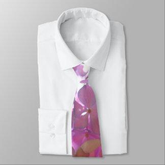 Radiant Pink Hydrangeas Tie