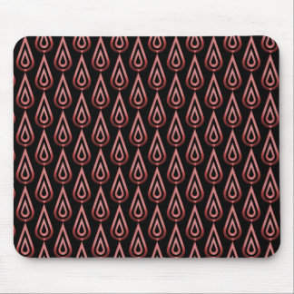 Radiant Red Flickering Flames Mousepad