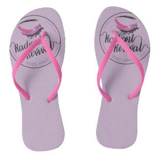 Radiant Revival Flip Flops