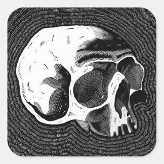 Radiant Skull Sticker
