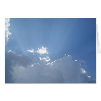 Radiant Sunbeams Card