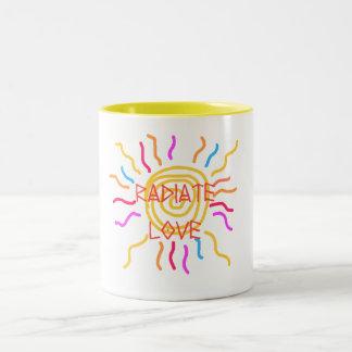 radiate love cup