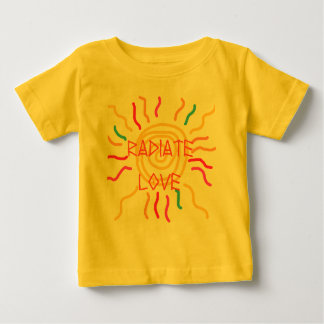 Radiate Love Sun Baby T-Shirt