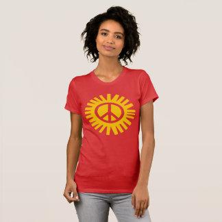 RADIATE PEACE women's t-shirt