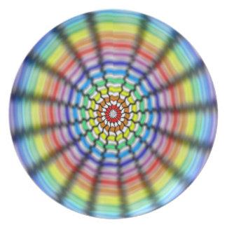 Radiating Flower Plate