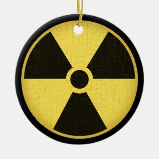 Radiation 1 ceramic ornament