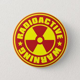Radiation_S 2 Inch Round Button