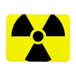 "Radiation Sign 3""x4"" Magnet"