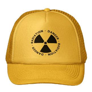 Radiation Symbol Cap Trucker Hat