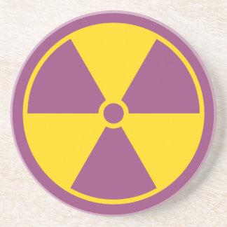 Radiation Symbol Coaster