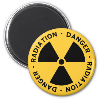 Radiation Symbol Magnet